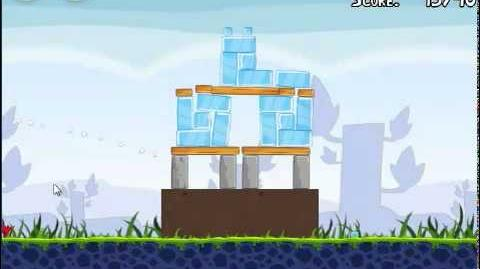 Angry Birds 1-7 Poached eggs 1-7 3 stars walkthrough Theme 1 level 1-7 Gameplay Tutorial