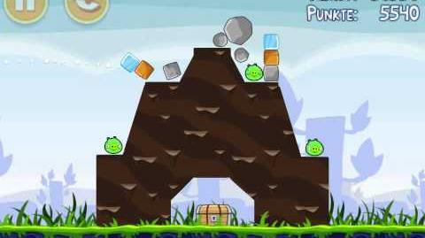 Angry Birds 3 Stars Theme 1 Level 1-8