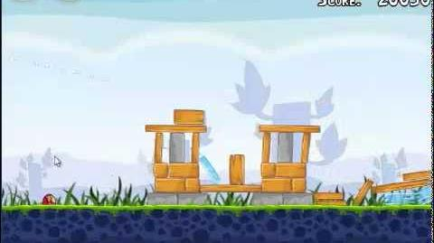 Angry Birds 1-9 Poached eggs 1-9 3 stars walkthrough Theme 1 level 1-9 Gameplay Tutorial