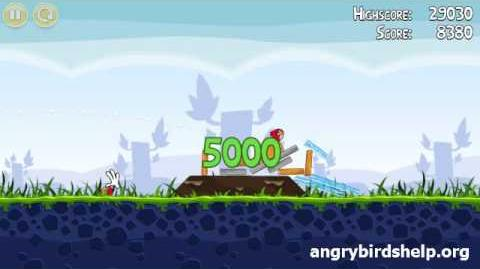 Angry Birds Level 1-4 - 3 Star Walkthrough
