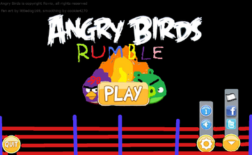 Angry birds rumble