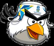 Angry birds hockey bird
