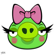 Angry bird female pig by life as a coder-d3h352i