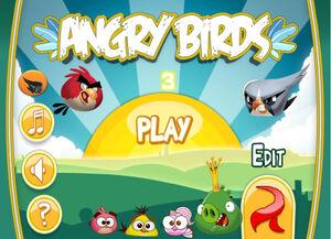 Angrybirds 3 Main menu