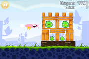 Pink Bird used in a level