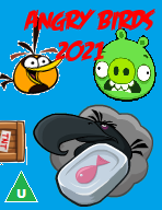 Angry Birds 2021 DVD Cover