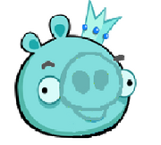 Crystal king pig