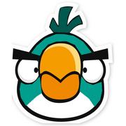 Blue-Green Cut Bird