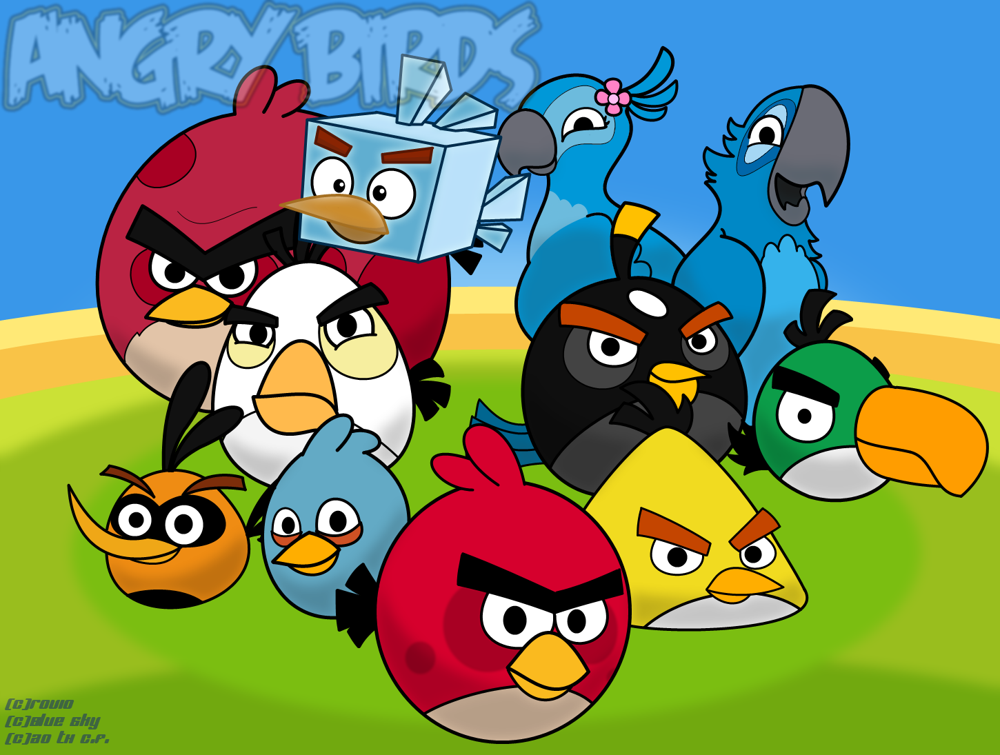 birds | angry birds fanon wiki | fandom poweredwikia