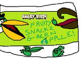 Angry Birds Fruity Snacks (Green Apple) (Fanon)
