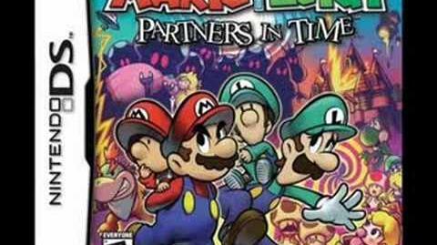 Mario & Luigi Partners In Time Music; Thwomp Caverns
