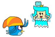 Willow conoce la Princesa Sprixie (Hada) Celeste (Angry Birds y SM3DW)