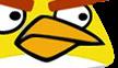 YELLOW ANGRY BIRD BEAK