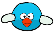 Blue Flappy Angry Bird