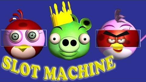 Slot Machine Game starring ANGRY BIRDS ♫ 3D animated game mashup ☺ FunVideoTV - Style;-))