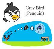 Gray Bird (Penquin)