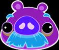Moustache-pig
