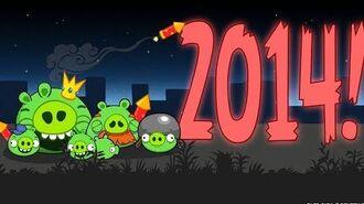 Bad Piggies BBC News Parody - Happy New Year 2014
