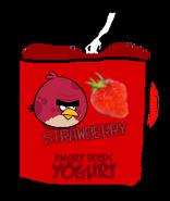 Angry Birds Strawberry Yogurt