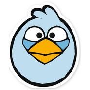 Ice Blue Cut Bird