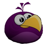 Purple Bird Eagle