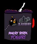 Angry Birds Blackberry Yogurt