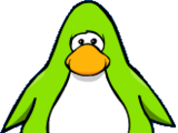 Lime Green Penguin