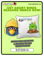 Angry Birds Trading Card 1