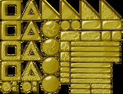 Gold Block Sheet