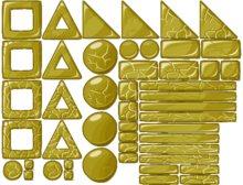 Gold Block Sheet