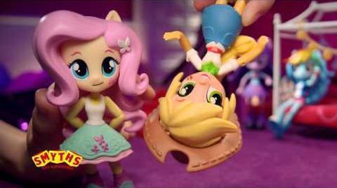 Smyths Toys - My Little Pony Equestria Girls Minis Slumber Party Range