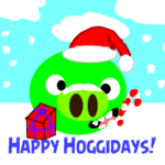 Happy Hoggidays!