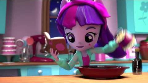MLP Equestria Girls Minis UK Pinkie Pie's Slumber Party Twilight Sparkle-0