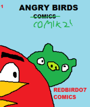 Angry Birds Comics 1 front