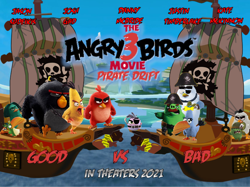 The Angry Birds Movie 3 Pirate Drift Angry Birds Fanon Wiki