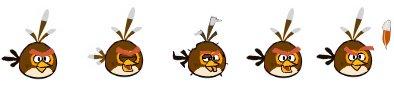 Brown Bird SpritesTWO