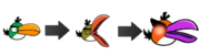 Angry Birds Upgrade - Boomerang Bird Phases