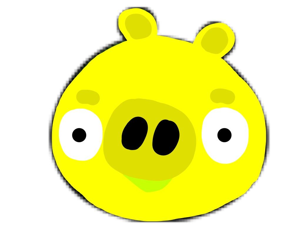 yellow pig | angry birds fanon wiki | fandom poweredwikia