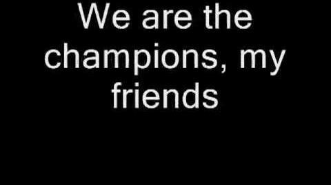Queen - We Are The Champions (Lyrics)