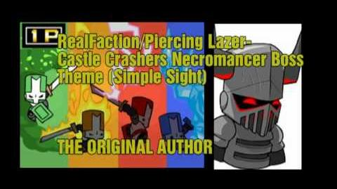 Piercing Lazer - Castle Crashers Necromancer Theme (Simple Sight)