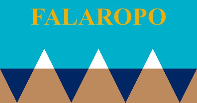 Falaropo Island Flag