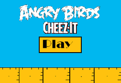 Angry Birds Cheez-It