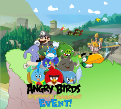 Angry Birds Legendary Adventure Main Menu!