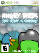 Angry Birds Our home is sinking! Box Art for XBOX