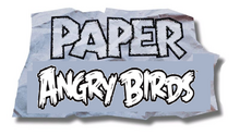 Paper Angry Birds Logo