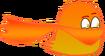 Lava Bird with cape