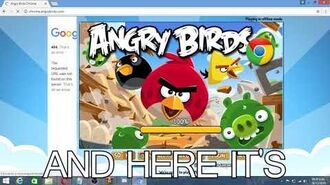 How to play Angry Birds Chrome in 2019 (Hi TCRF)-1
