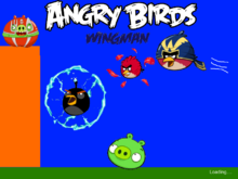 Angry Birds Wingman loading screen