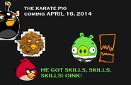 The Karate Pig Poster