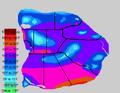 Piggania Annual Avg. Temperature Map